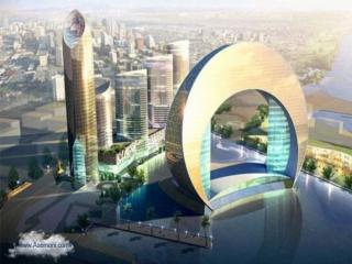 هتلی به شکل هلال ماه در آذربایجان