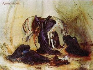 چگونه امام زمان از قاتلان مرده امام حسین انتقام میگیرند؟