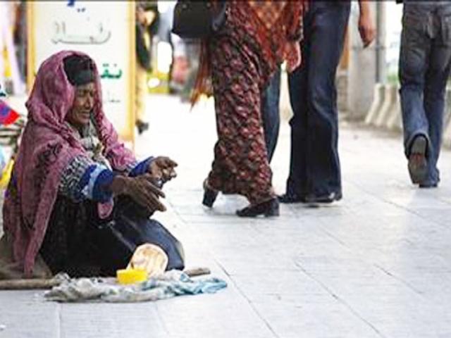 متکدیان پاکستانی و دخترنما در تهران