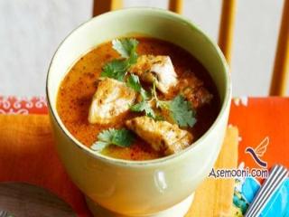 طرز تهیه سوپ ماهی زعفرانی