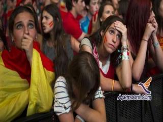 دلایل حذف اسپانیا از جام جهانی 2014