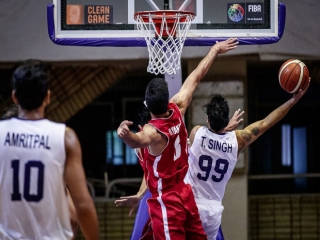 تیم ملی بسکتبال اردن به عنوان سوم دست یافت