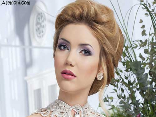 مدل جدید آرایش عروس