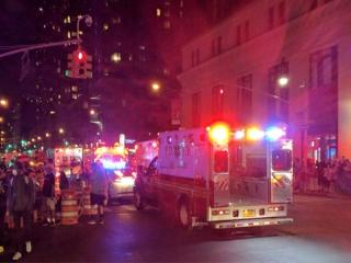 انفجار در نیویورک 29 مجروح بر جای گذاشت/ شهردار نیویورک: انفجار عمدی بود