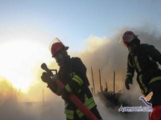 نجات 90 تن در پی آتش سوزی در برج مسکونی