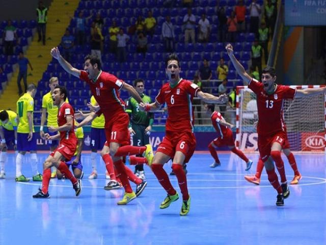 شکست برزیل مقابل فوتسال ایران، تاریخ سازی بزرگ در جام جهانی کلمبیا 2016