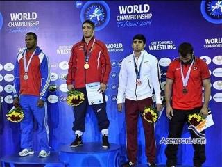 تیم کشتی آزاد ایران نایب قهرمان جام جهانی در ازبکستان شد