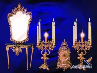 نکاتی درباره خرید آینه و شمعدان عروسی