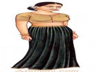 طرز پوشیدن لباس هندی (طرح ساری)