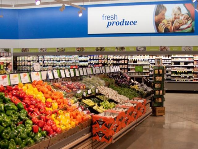 دکوراسیون فروشگاه مواد غذایی