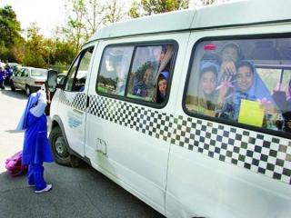 10 هزار تاکسیران برچسب سرویس مدارس دریافت کردند/ منع تردد 10 هزار تاکسی در شهر تهران