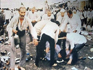 6 ذی الحجه ، شهادت مظلومانه زائران خانه خدا به دست ماموران آل سعود ، 1366 هـ ش