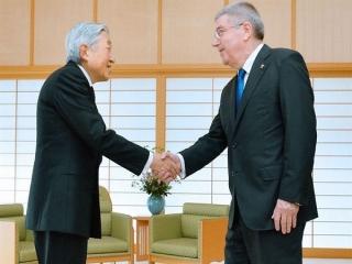 توماس باخ با امپراتور ژاپن دیدار کرد