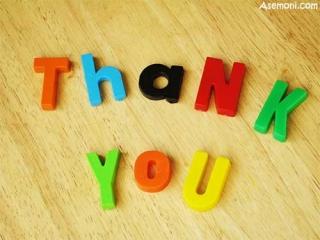 تشکر و جواب تشکر در انگلیسی