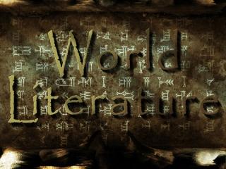 نگاهی به ادبیات جهان