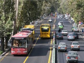 ساعت کار و حرکت خطوط بی آر تی تهران