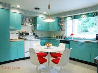 رنگ های آشپزخانه