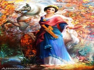 پوشش زنان در ایران باستان