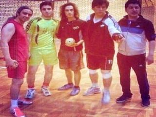عکس های ورزشی مرتضی پاشایی
