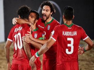 تیم ملی فوتبال ساحلی ایران برابر مصر به پیروزی رسید