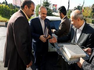 آغاز به کار رسمی مسعود سلطانی فر در وزارت ورزش