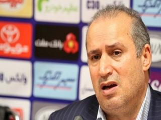 تاج: با دو میلیارد، ملوان در لیگ میماند/ بازی ایران و سوریه طبیعی نبود