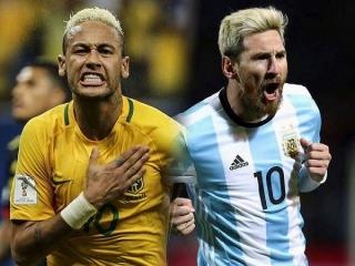 نبرد بزرگ برزیل - آرژانتین؛ مسی رودرروی نیمار
