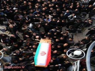عکسهایی از تشییع پیکر مرتضی پاشایی