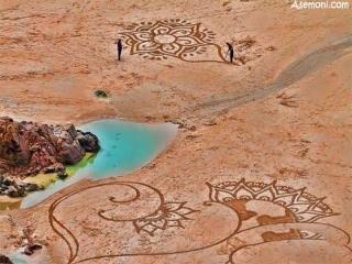 هنر نزد ایرانیان است و بس؟!