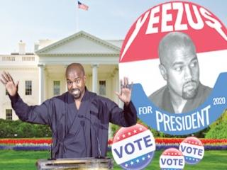 خواننده آمریکایی و نامزد ریاست جمهوری