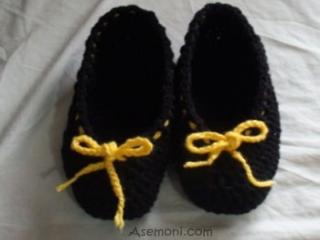آموزش بافت کفش روفرشی