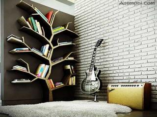 دکوراسیون اتاق مخصوص کتاب و کتابخانه