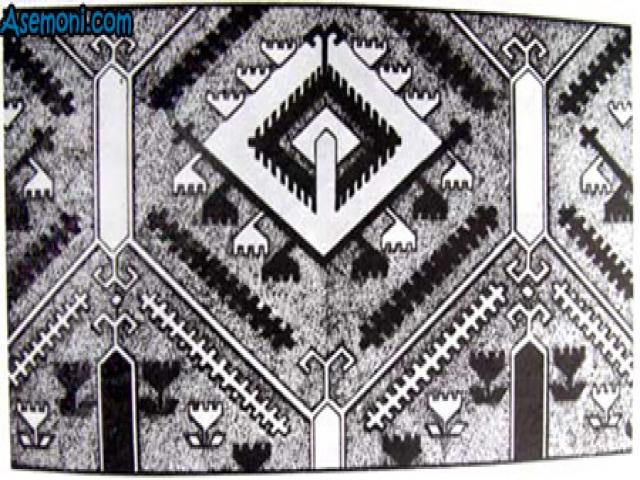 طرح و نقشه قالی و فرش