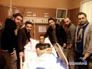 آخرین وضعیت مرتضی پاشایی در بیمارستان