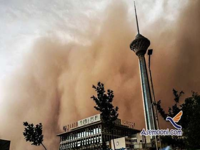 طوفان کم سابقه در پایتخت