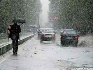 هوای برفی در تهران