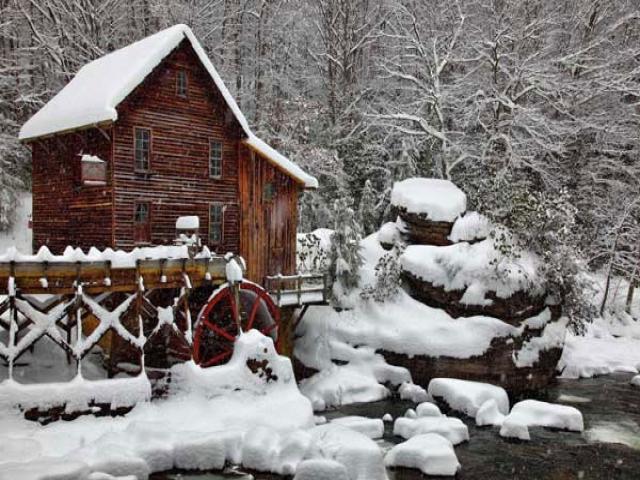 متنی زیبا در مورد بارش برف