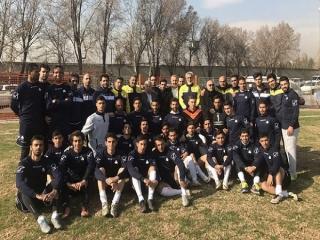 حضور علی پروین در تمرین تیم فوتبال سایپا قبل از بازی با پیکان