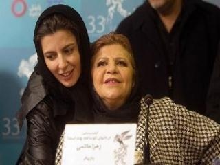 مصاحبه جالب مادر لیلا حاتمی