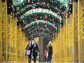 کریسمس در شانگهای چین