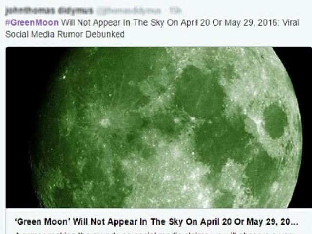 در این روز ماه سبز رنگ خواهد شد