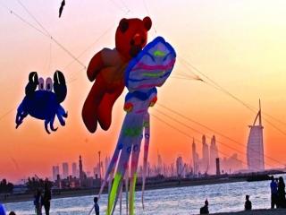 فستیوال پرواز کایت بر فراز دبی