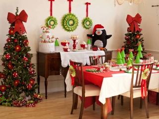 تزئینات خانه برای ایام کریسمس و سال نو میلادی
