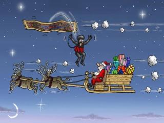 کاریکاتورهای باحال کریسمس
