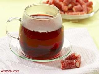 چای داغ ننوشید !!