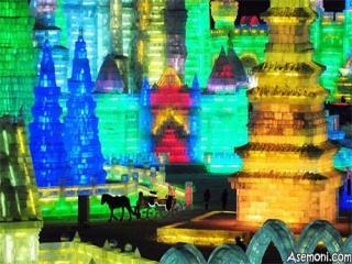 تصاویری از شهر یخی در چین