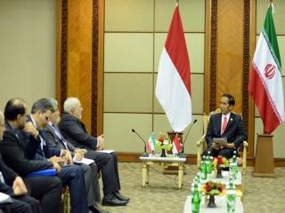رییس جمهوری اندونزی وارد تهران شد