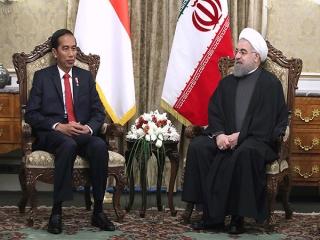 روحانی: همکاری ایران و اندونزی به نفع ثبات منطقه و جهان اسلام خواهد بود/ تاکید بر اجرای توافقات دو کشور