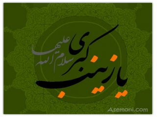 اس ام اس وفات حضرت زینب سلام الله علیها