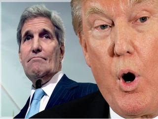 ترامپ: جان کری برای خودش حرف میزند/ قطعنامه علیه اسرائیل خیلی خیلی ناعادلانه بود